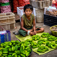 Young Starfruit Seller