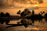 Alleppey Backwaters Sunrise