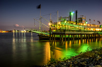 The Natchez, Moored
