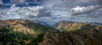 Little Cottonwood Panorama from Mount Wolverine