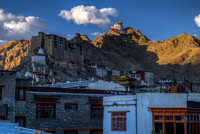 Leh:  Old Palace and Namgyal Tsemo