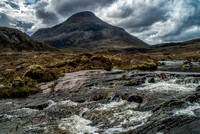 Highland Stream above Loch Torridon