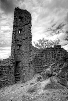 Ruined Castle Tower in Piégut-Pluviers V