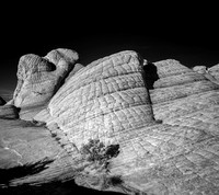 Infrared Images of Yant Flat Cliffs