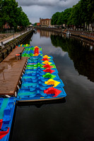 Colours on the Klaipėda Canal