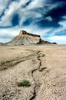 Factory Butte (Color View I)