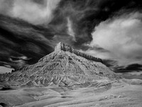 Factory Butte (Infrared View III)