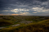 Morning on the Badlands