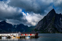 The island fishing hamlet of Hamnøya