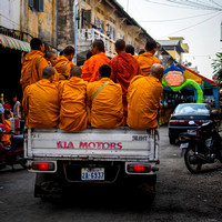 A Pickup Full of Monks