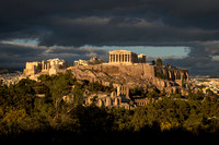 Acropolis in the Late Afternoon