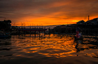 Sunset on the Floating Village