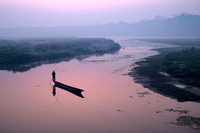 Very Early Light on East Rapti River