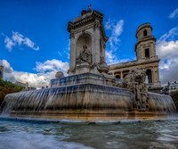 Fountain at the Place de Saint Sulpice