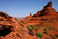 Valley of the Gods in Color