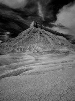 Factory Butte (Infrared View II)
