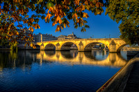 Autumn Light on the Pont Royal