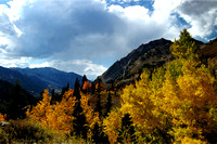Autumn Falls on Little Cottonwood Canyon - I